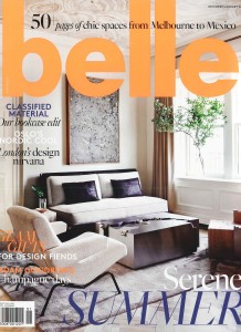 COVER BELLE MAGAZINE